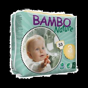 Bambo Nature Fraldas Tamanho 3 5-9kg