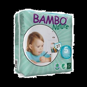Bambo Nature Fraldas Tamanho 5 12-22kg