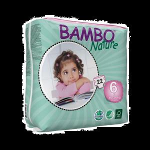 Bambo Nature Fraldas T.6 16-30kg 22 Unidades