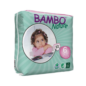 Bambo Nature Fraldas Tamanho 6 16-30kg