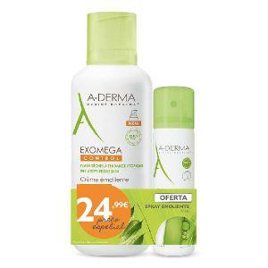 A-Derma Exomega Control Creme Emoliente + Spray