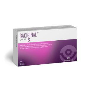 Baciginal Oral 5 Cápsulas