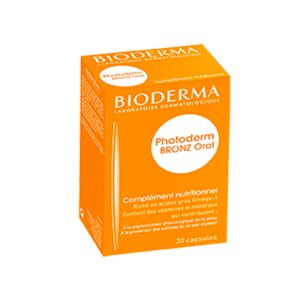 Bioderma Photoderm Bronze Oral Cápsulas