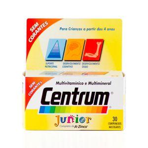 Centrum Júnior Comprimidos Mastigáveis - 30 Comprimidos