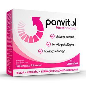 Panvitol Ampolas
