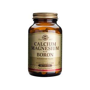 Solgar Cálcio Magnésio E Boro Comprimidos
