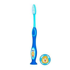Chicco - Escova De Dentes De Leite 3-6 Anos Azul