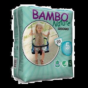 Bambo Nature Fraldas Cueca Tamanho 5 12-20kg