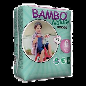Bambo Nature Fraldas Cueca T.6 18+kg 18 Unidades