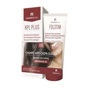 KPL Plus Pack Champô Dermatológico Anti-Caspa Oferta Folstim Champô
