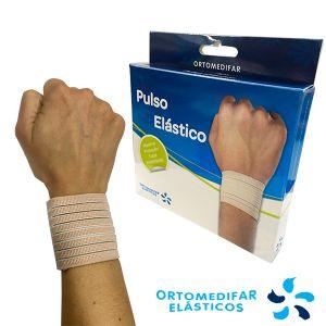 Ortomedifar Elásticos - Pulso Elástico Bege