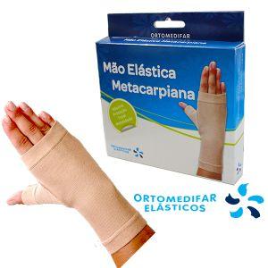Ortomedifar Elásticos - Mão Elástica Metacarpiana Bege