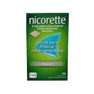 Nicorette 2 Mg Gomas (105un.)