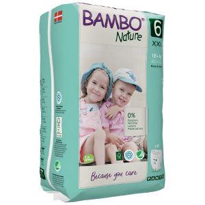 Bambo Nature Fraldas Cueca T6 18+Kg