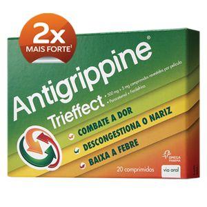 Antigrippine Trieffect  20 Comprimidos