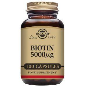 Solgar Biotina 5000 μg