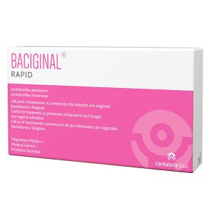 Baciginal Rapid Cápsulas Vaginais