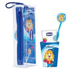 Chicco Conjunto Higiene Oral 3-6 Anos Azul
