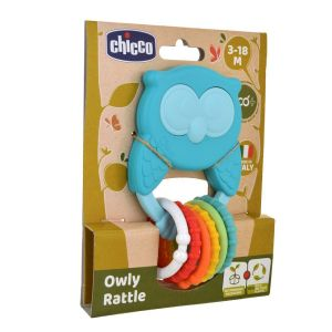 Chicco Owly Rattle 3-18M ECO+
