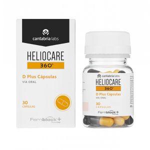 Heliocare 360º D Plus Cápsulas