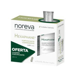 Noreva Hexaphane Fortificante Comprimidos + Champô Fortificante
