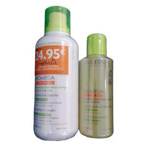 A-Derma Exomega Control Pack Creme Emoliente (400ml) + Óleo de Duche Emoliente (200ml)
