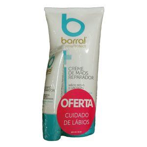 Barral DermaProtect Pack Creme Mãos + Bálsamo Lábios
