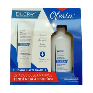 Ducray Pack Tendência a Psoríase (Kertyol PSO + Elution)