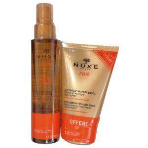 Nuxe Sun Pack (Óleo Bronzeador FPS30 + Leite Refrescante Pós Solar)