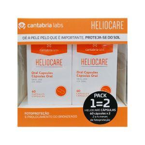 Heliocare Pack Cápsulas Oral (1=2)