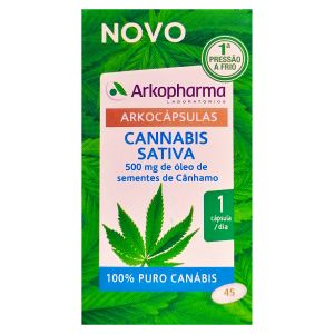 Arkocápsulas Cannabis Sativa