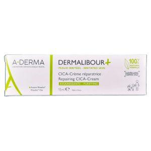 A-Derma Dermalibour+  Cica-Creme Reparador 15ml