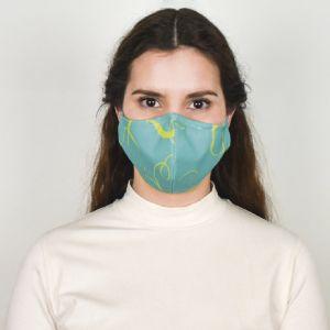 Máscara Têxtil Social Reutilizável Tamanho 2