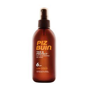 Piz Buin Tan & Protect Óleo Spray Acelerador De Bronzeado SPF 6