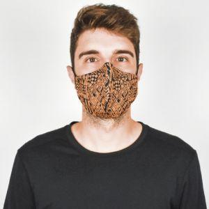 Máscara Têxtil Social Reutilizável Tamanho 1