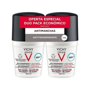 Vichy Homme Roll-On Antimanchas 48H - Duo